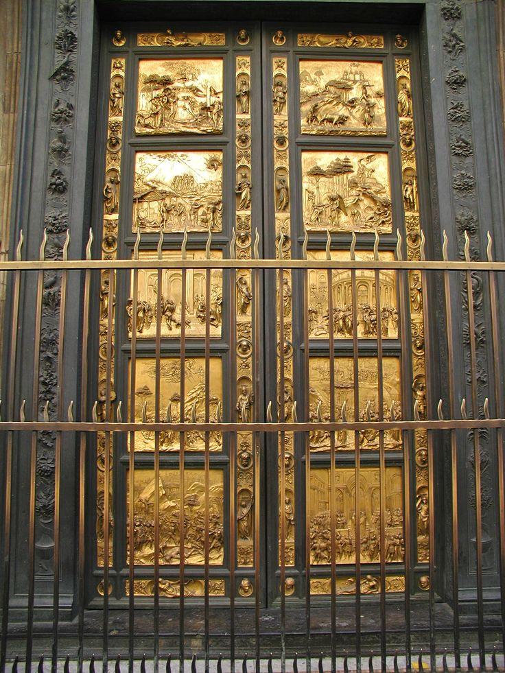 Golden door Florence, Toscane   Doors   Pinterest