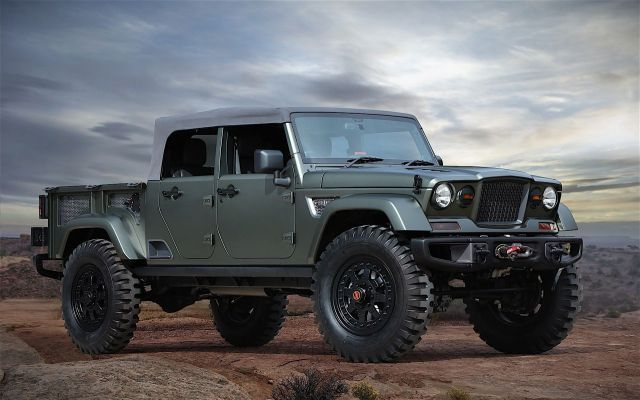 2019 Jeep Wrangler Pickup Truck News Photos Jeep Wrangler