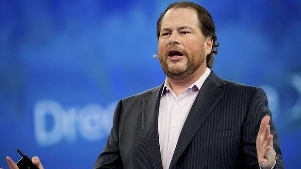 Marc Benioff, chairman and chief executive officer of Salesforce.com.
