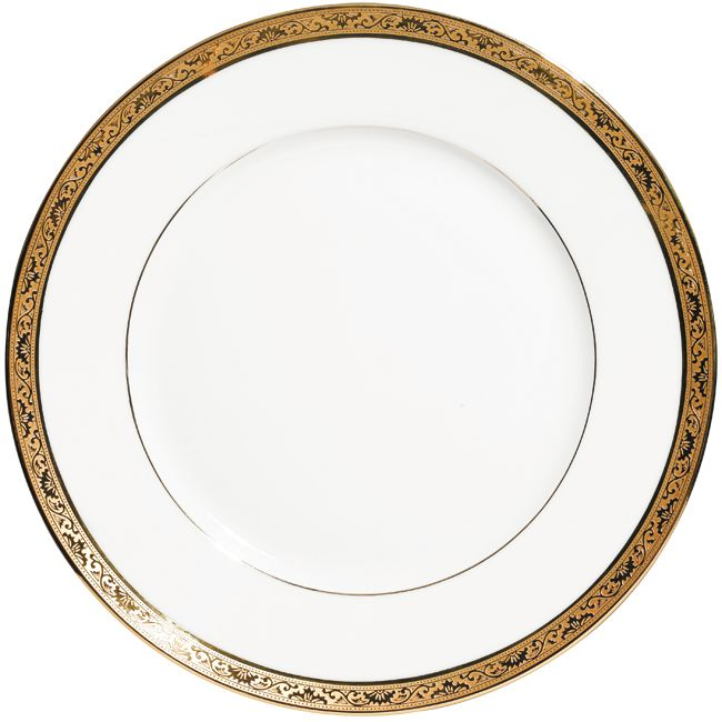 #Raynaud - Limoges #porcelain - Ambassador collection with inlayed gold