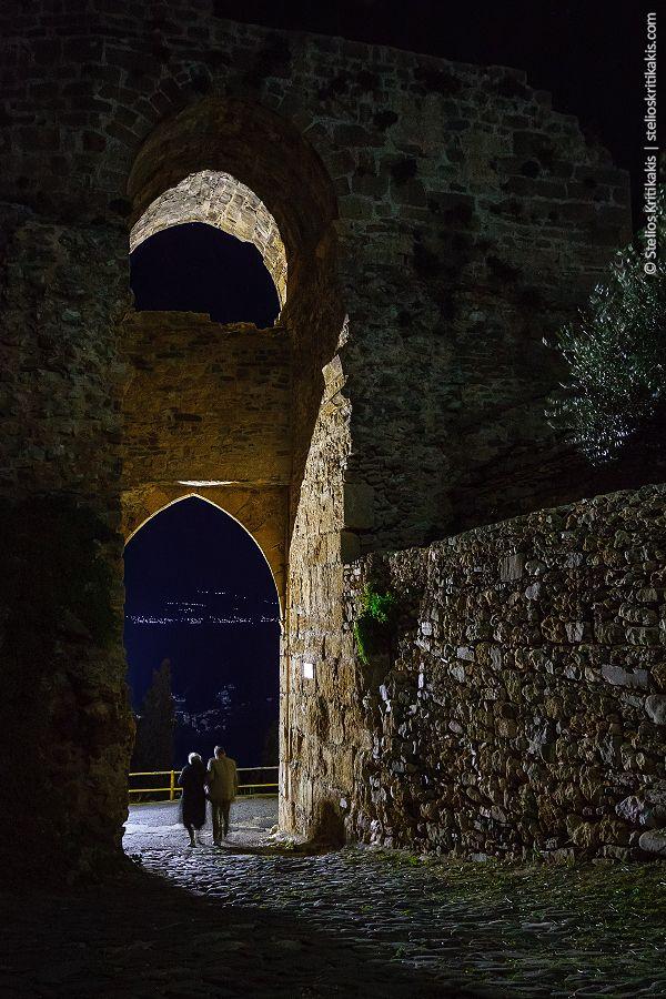 sea, water, nature, greece, rocks, town, castle, long exposure, blue hour, nightshot, messinia, koroni, its_me