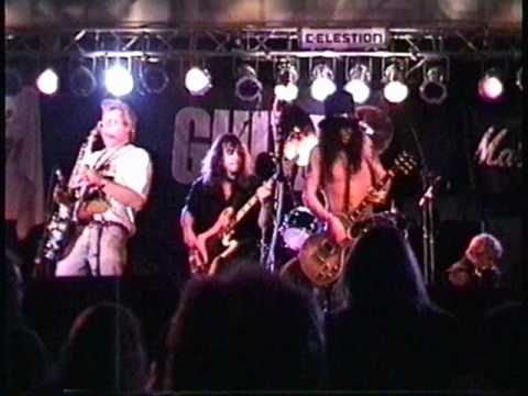 Slash, 1997,Playing Led Zeppelin - Rare !! Excellent footage. - YouTube