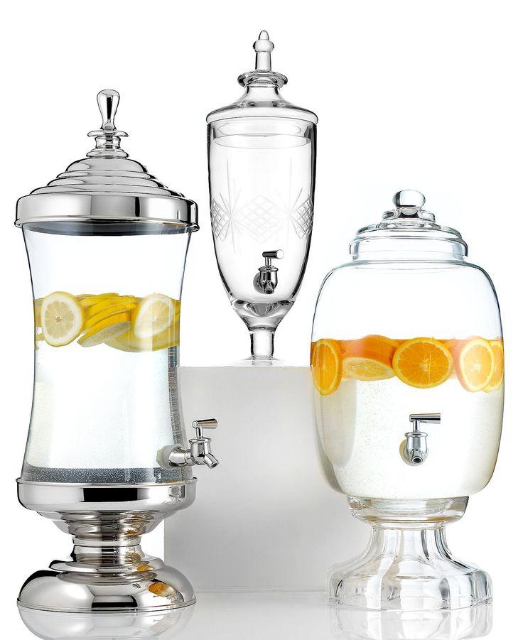 Godinger Serveware, Gatherings Beverage Dispenser Collection - Outdoor Dining & Picnic - Dining & Entertaining - Macys Bridal and Wedding Registry   #macysdreamfund