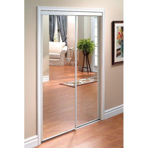 Finest Fabriquer Un Miroir Plein Pied Avec De Vieilles Portes With Porte De  Placard Coulissante Ikea