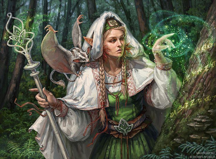 Сказочные персонажи картинки ведьмы