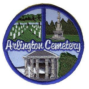 eParks.com: Arlington Cemetery Patch - eParks - Where your purchase supports America's National Parks.