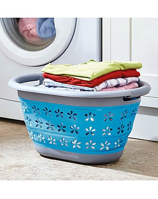 Collapsible Laundry Basket | House of Bath