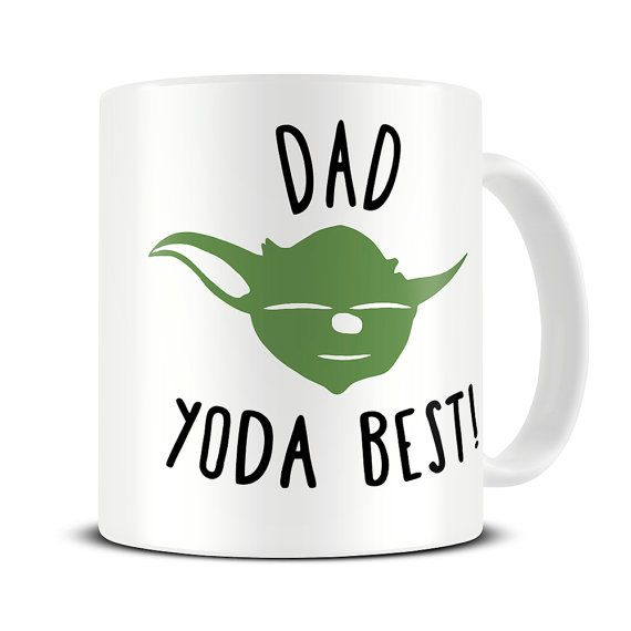 Dad Yoda Best Coffee Mug - gift for dad - father's day gift - funny mug - MG349 https://www.etsy.com/shop/theMugHermit