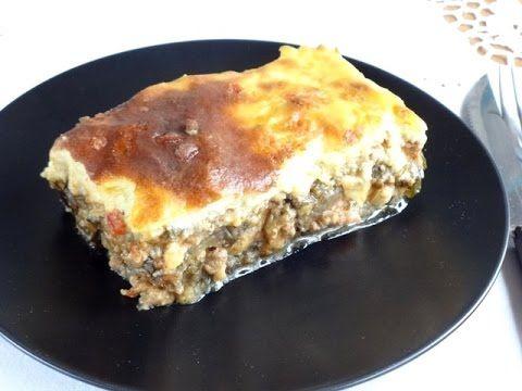 Мусака. Греческая кухня. Учимся готовить мусака. Moussaka