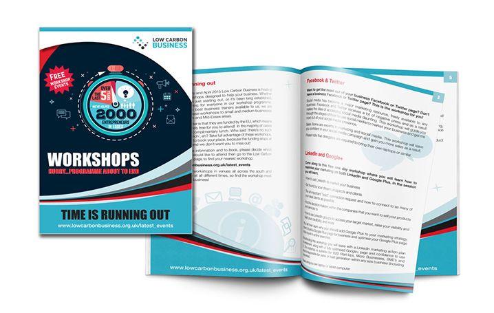 Brochure for Low Carbon Business workshops