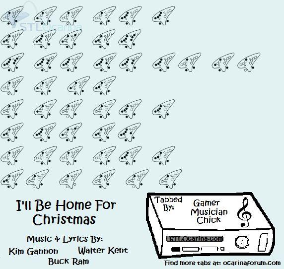 i ll be home for christmas sheet music pdf