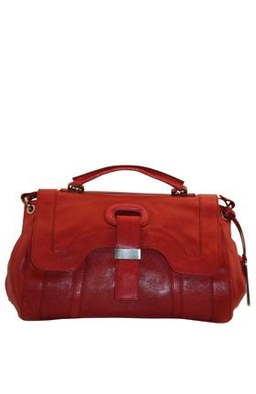 The glam Botkier Charlotte Satchel in stunning red.
