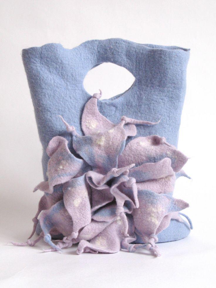 """# felted bag """"WINTER""""♡"""