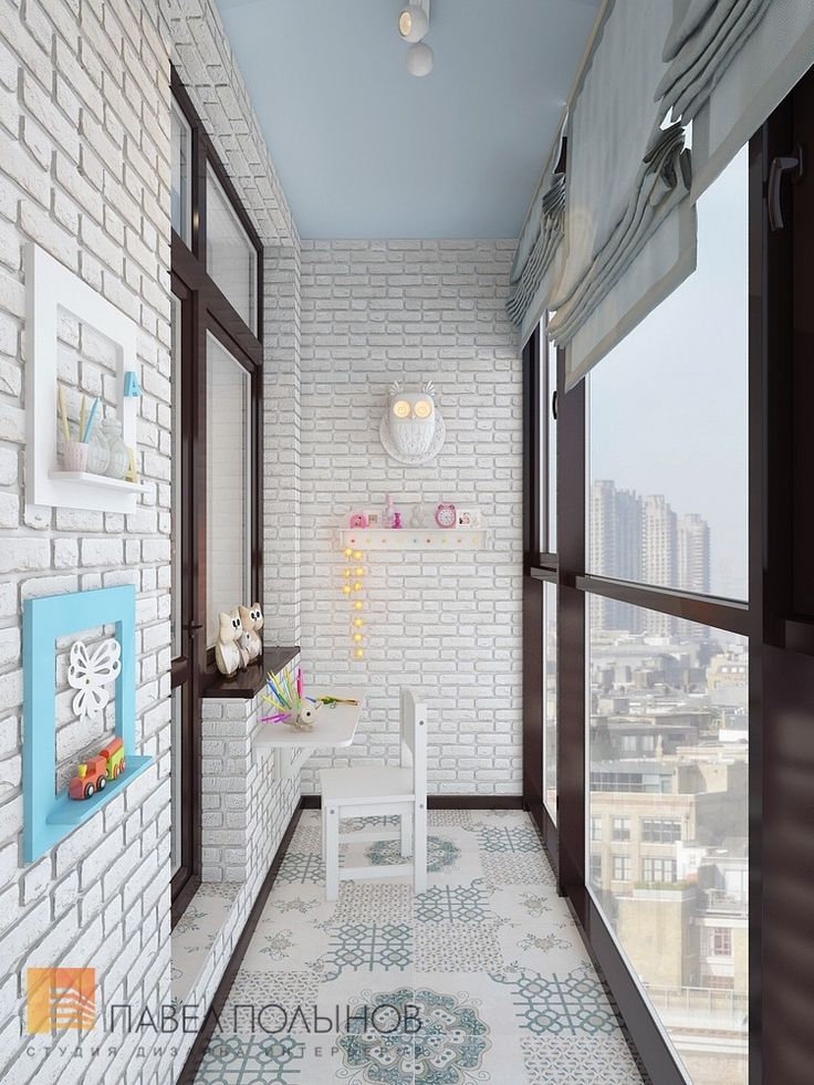 Фото: Лоджия - Двухуровневая квартира в неоклассическом стиле, ЖК «Жилой дом на Пионерской», 208 кв.м.