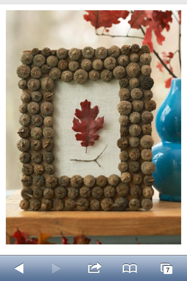 Fall- acorn picture frames
