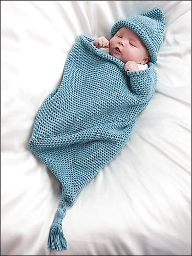 Knitting Patterns For Babies Born Asleep : Best images about baby cocoons on pinterest