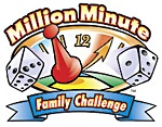 Million Minute Family Challenge  - great way to challenge your family to spend less time in front of the tube  and more time in front of each other!  Sep 1 - Dec 1: Games Group, Annual Challenges, Families Boards Cards, Church Group, Families Games, Minute Families, Boards Cards Games, Families Challenges, Minute Plays
