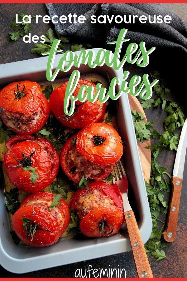 Tomates Farcies Reussir La Recette Des Tomates Farcies Maison