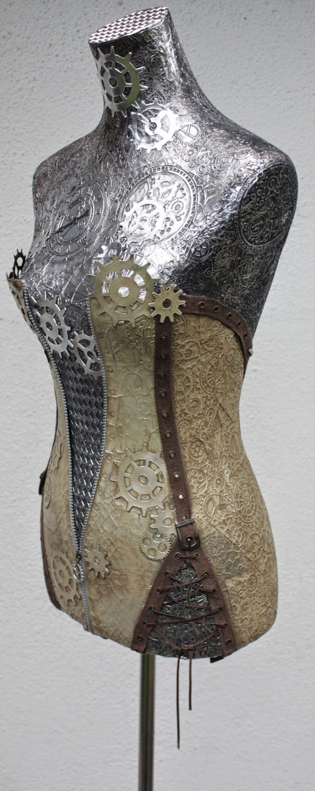 - Steampunk Dress Form by Belinda Basson