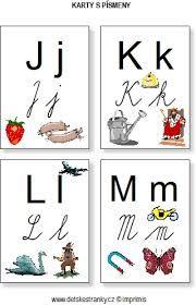 Výsledek obrázku pro vybarvovací tabulka písmen s obrázky do školy