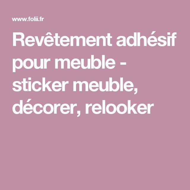 17 meilleures id es propos de revetement adhesif sur pinterest rev tement - Rouleau vinyle adhesif pour meuble ...