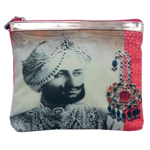 Bejeweled Raja Print #Pouch #Bags #Fashion #Accessories