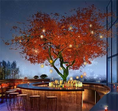 South American and Japanese fusion with a view - we scale the heights of Sushisamba -  - London