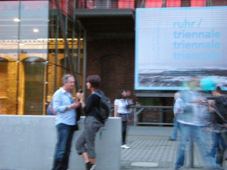 ruhrgebietMITTE - der BOBlog - betreibt Kulturvermittlung: ExtraSchicht 2014 -anner Jahrhunderthalle Bochum und hier wird geflirtet