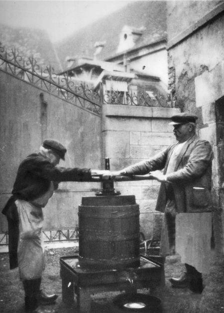 Wine Press Beaune, 1930