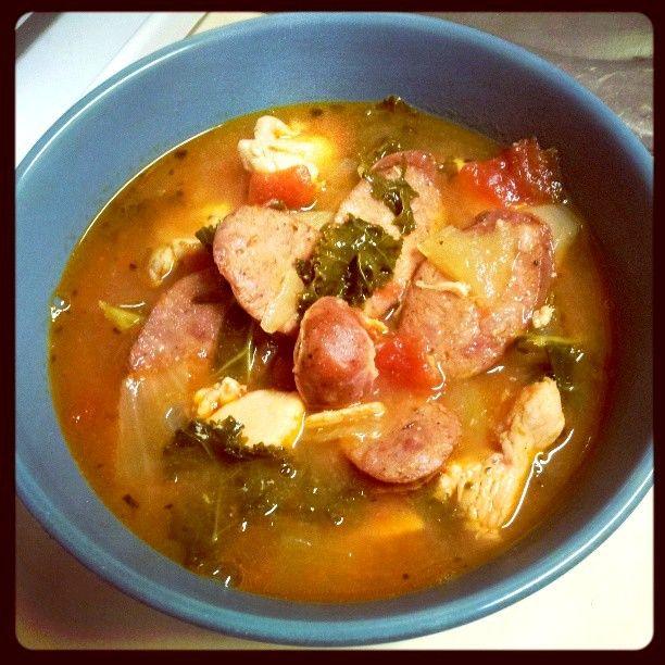 Whole30 - Jambalaya Soup (Recipe)