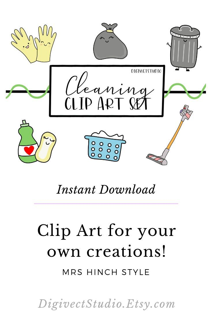 spring cleaning clipart free