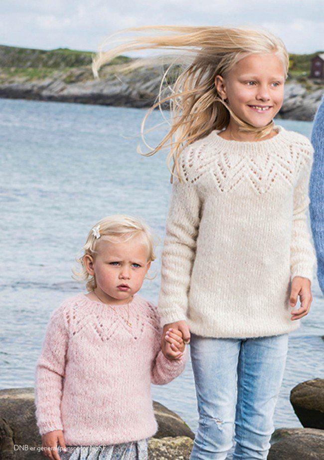 Tirilgenser til Barn - Strickanleitungen - Sandnes Garn