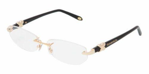 d9ee2e5d368 Women u0026 39 s 1026 Gold Frame Rimless Eyeglasses