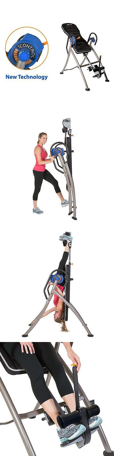 Inversion Tables 112954: Ironman Icontrol 600 Weight Extended Disk Brake System Inversion Table With BUY IT NOW ONLY: $269.99