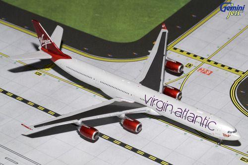 Gemini Jets - GeminiJets 1:400 Virgin Atlantic A340-600