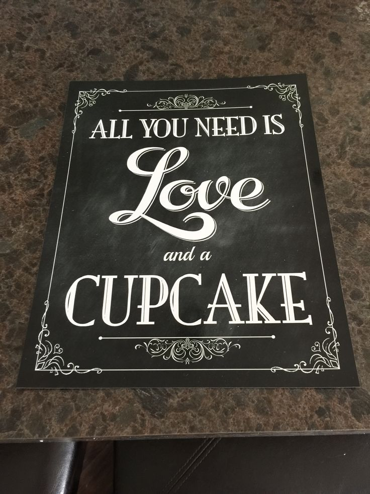 "8x 10 signs designed to look like chalkboard signs.  I framed them in 8x10 frames for my wedding.  I paid $5.00 a piece for the design on Etsy, and then $2.80 for the picture.  Sayings include: ""All you need is love and a cupcake"" ""We knew that you would be here today if heaven wasn't so far away."" ..."