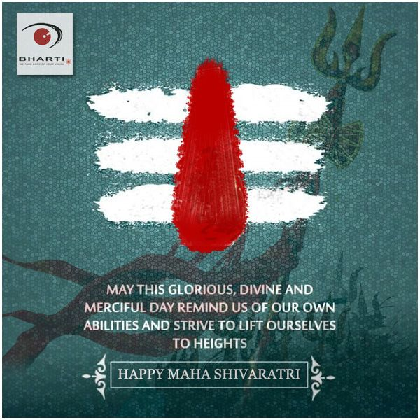 On this auspicious occasion may the blessings of God Shiva be with all of you..! May his glorious divine and merciful attributes remind us of our own abilities and strive to lift ourselves to heights..!!  Happy Maha ShivaRatri to all of you.