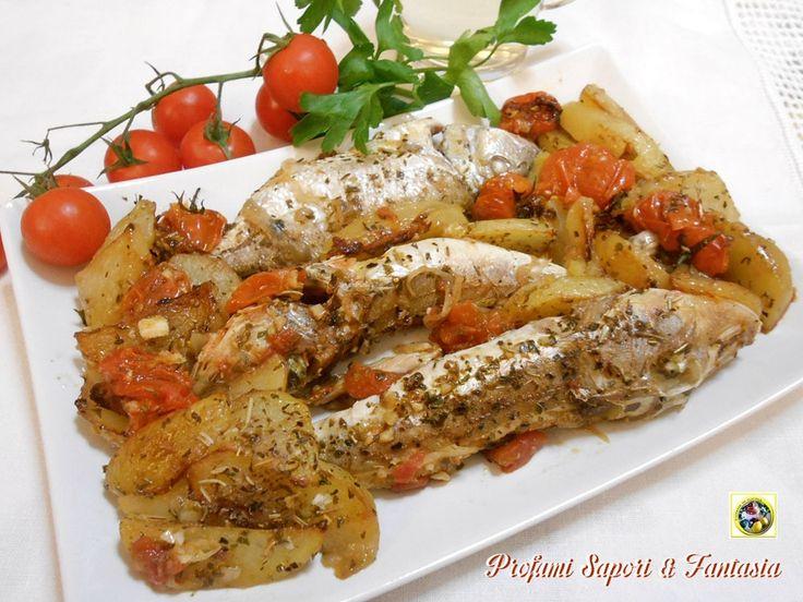 Gallinella di mare al forno con patate