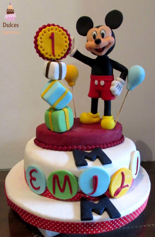 Torta Mickey #TortaMickey #TortasDecoradas #DulcesKaprichos