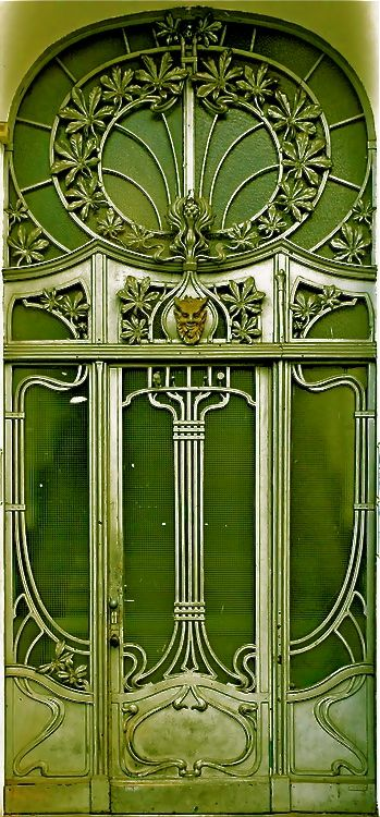 langoaurelian:    nouveau-deco:  Berlin - Jugendstil 006 (by Arnim Schulz) Digitally altered