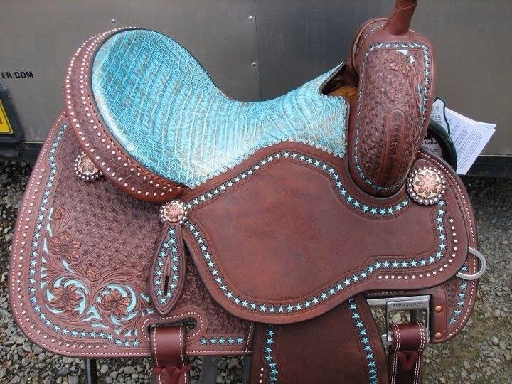 Martin Saddlery Sherry Cervi Crown C Barrel Saddle