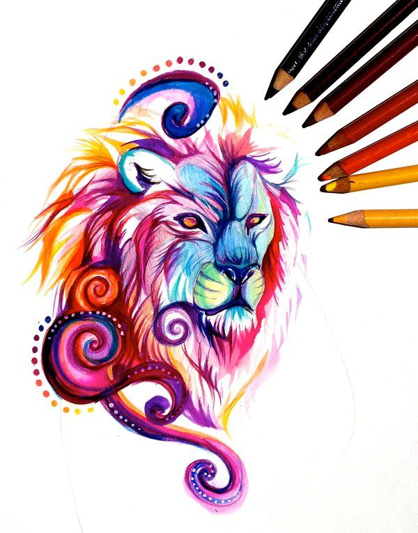 King of the lions my newest painting is available in my for Tattoo shops katy texas