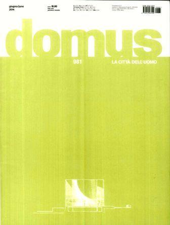Domus Nº 981 (mayo 2014) http://encore.fama.us.es/iii/encore/record/C__Rb1250956?lang=spi