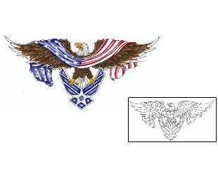Show details for Air Force Tattoo CRF-00258