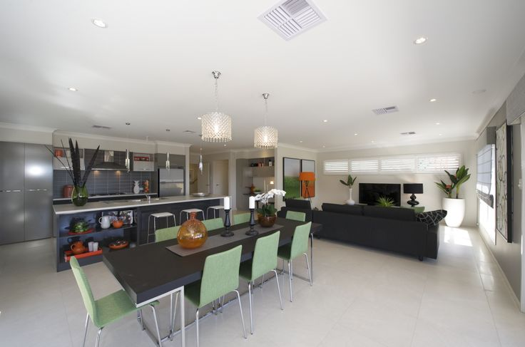 Open plan kitchen, dining and living area  #feelslikehome #cooking #diningroom #openplan #relax
