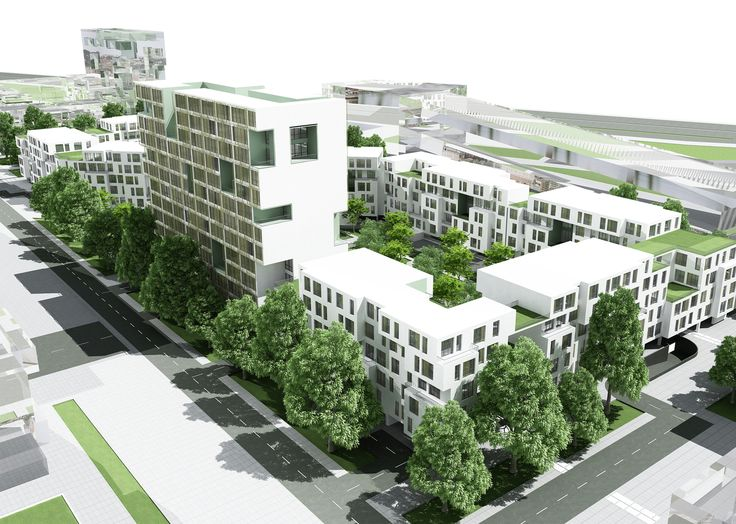 Mehrshahr Residential Complex Proposal / ContemporARchitectURban Designers Group,general view 02