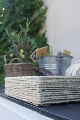 gardening: Covers Crates, Ataletc Bahc Gardens Excel, Gardens Spaces, Decor Outdoor, Gardens Outdoor, Ataletce Bahce Gardens, Jute Trays, Gardens Baskets, Gardens Growing