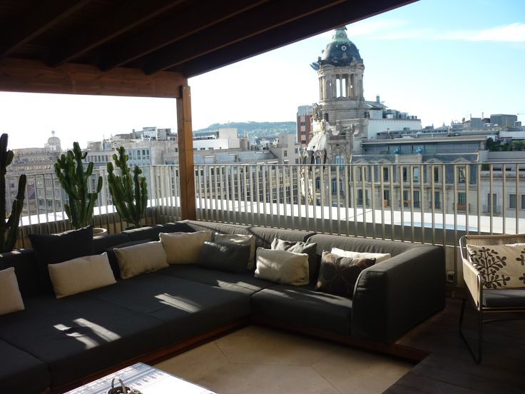 Lovely view from Mandarin Oriental Barcelona's Penthouse Suite