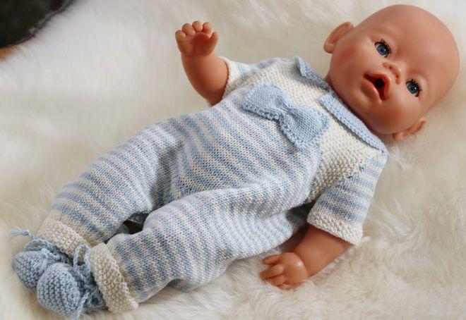 Poppenkleertjes breien voor Baby born - Brei een prachtig Babypop setje