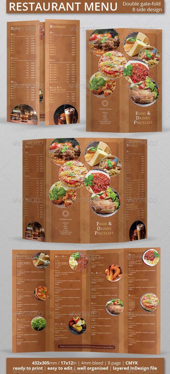 restaurant menu food menus print templates download here http